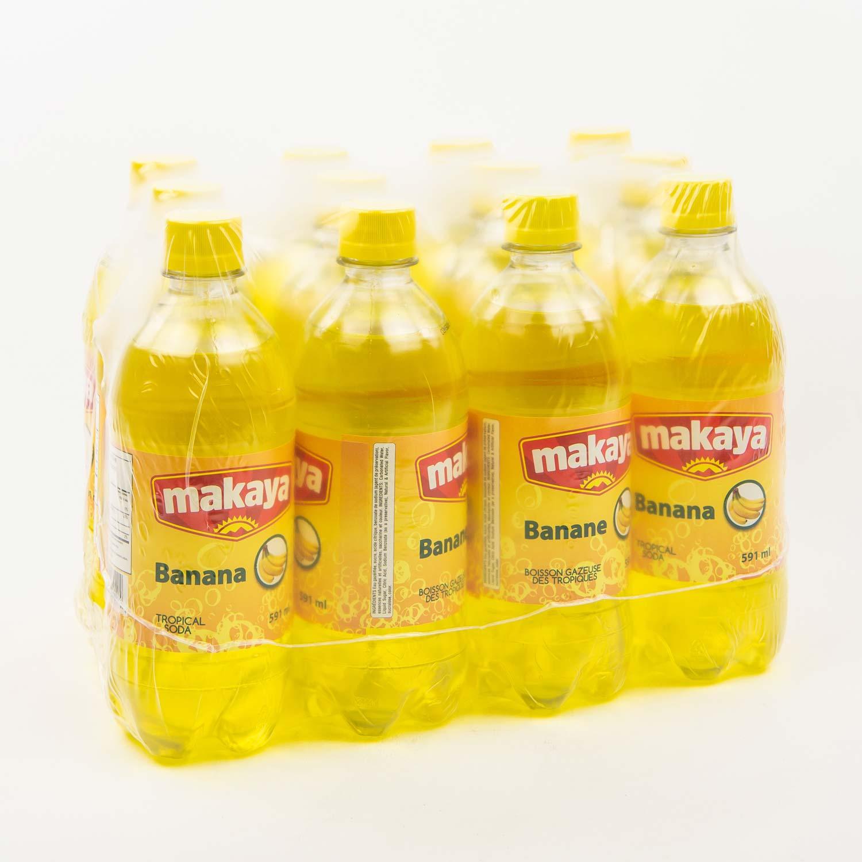 Boisson Gazeuse Banane 12 X 591 Ml Boisson Gazeuse Mayrand
